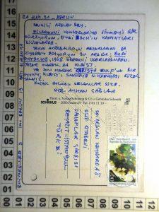 """""""Sevgili kardeşim Arslan Bey…"""" (Ece Ayhan'dan, Arslan Kaynardağ'a Kartpostal ve Mektup)"""